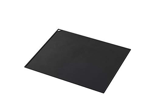 山崎実業(Yamazaki) 電子レンジ庫内汚れ防止シリコンマット ブラック 約W35XD29XH0.3cm タワー 耐熱 滑り止め 電子レンジ対応 ランチョンマット 5040