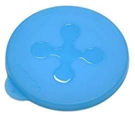 Joschi Silikon Becherdeckel blau 10cm Joghurtbecherdeckel - 500gr Becherdeckel - Buttermilchdeckel - usw.