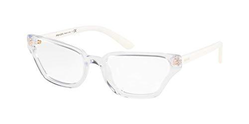 Prada 0PR 04XV Monturas de gafas, Crystal, 54 para Mujer