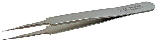 Rubis Horlogemaker pincet Swiss Made staal antimagnetisch nr. 5 gereedschap 4139.A5