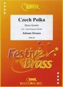 STRAUSS, Johann: Czech Polka (melk) 2 Trompetten, 2 Posaunes