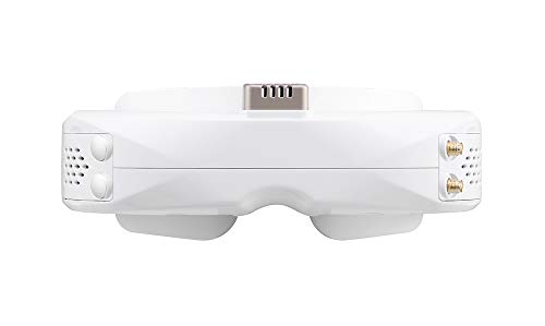 White Skyzone SKY04X 5.8G 48CH 1280x960 OLED FPV Goggles with Steadyview Receiver DVR Head Tracker Function