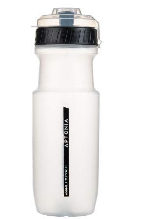APTONIA Sport-Trinkflasche 650 ml, Schwarz