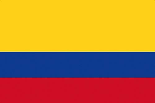 1art1 Kolumbien - Flaggen Der Welt Poster 91 x 61 cm