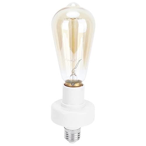 Portalámparas, PC Carcasa ignífuga Toma de luz Control remoto resistente a la corrosión para lámparas RGB para uso doméstico e interior