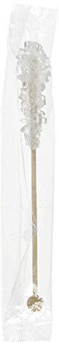 Kandis-Sticks weiß (einzeln in Folie verpackt) 17cm - 100 Stück
