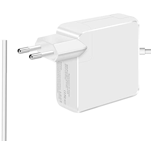 Mac Pro Ladegerät 60W, Mags safe 1 L-Tip Kompatibel mit Stromadapter für Mac Pro 13