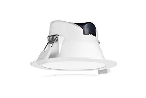 Tevea Faretti LED ad Incasso | 7W IP44 230V Dimmerabile | Cambia Colore 3 in 1 Colore 3000K-4000K-6000K | Incasso per Cartongesso