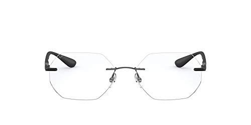 Ray-Ban 0rx8765 Gafas, MATTE DARK GUNMETAL, 53 Unisex