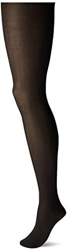 LEGGS SILKY TIGHTS, BLACK, Size Medium