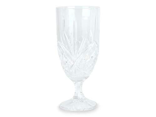 FORM Living Bierglas zu Fuß 2-p-Pack gemustertes Glas