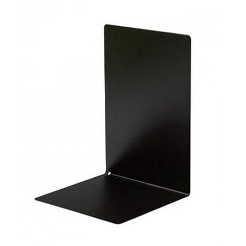 (まとめ買い)ソニック ブックエンド マグネット付 L型 大 黒 DA-4207-D 【×5】