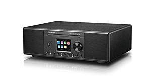 Albrecht DR 890 CD, 27389.01, Kompaktanlage - Internetradio, Digitalradio, WLAN, DAB+, UKW mit RDS, Bluetooth, AUX, CD Player, USB, Farbdisplay, 2 x 15 W RMS, Farbe: schwarz