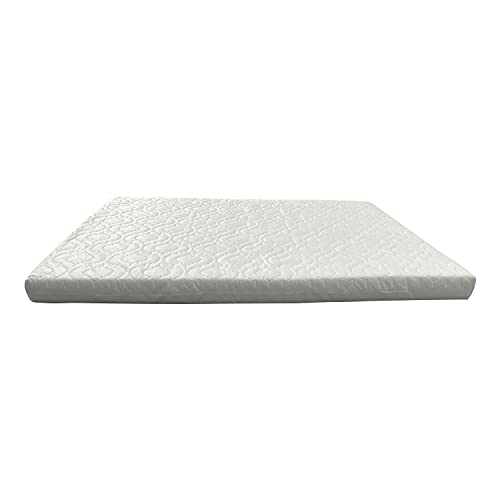 Brillars® Baby Toddler Crib Mattress Fit for TUTTI Bambini CoZee Bedside Fully Breathable (80.5 x 51 x 4cm)