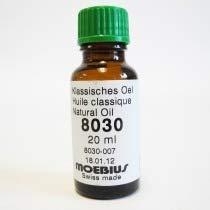 Walsh Moebius 8030 - Aceite Natural para Relojes pequeños o medianos, 20 ml, HO8030