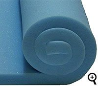 x 1 1//2 L W W x 50cm x 20 W x 0.50m Blue Upholstery Foam Sheet High Density 60 L D //1.52m L //152cm