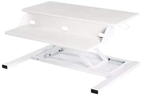 Luxor LVLUP PRO32 WH Level Up Pro 32 Standing Desk Converter White