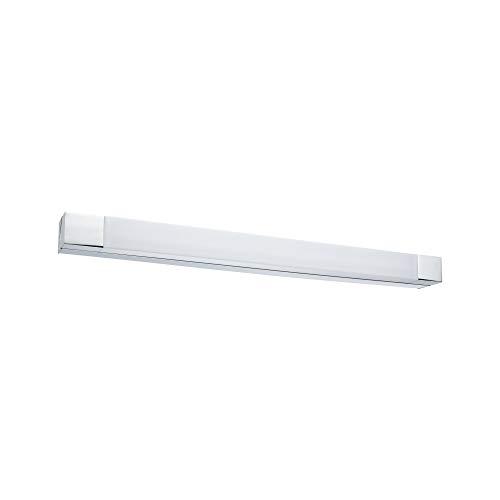 Paulmann 79715 LED Deckenleuchte Spiegelleuchte Quasar incl. 1x10,5 Watt IP44 Deckenlampe Chrom, Weiß Wohnzimmerlampe Metall, Acryl Flurlampe 3000 K