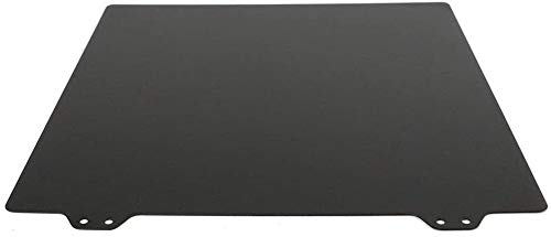 Printer Accessories 310x310mm Black Double Sided Textured PEI Spring Steel Sheet Powder Coated PEI Plate for Creality CR10 CR-10S CR10S 3D Printing Accessories