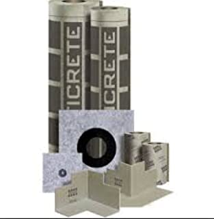 hydro ban sheet membrane installation