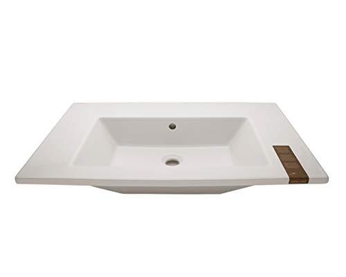 Catalano Keramik Waschbecken Modell Star weiß 80x48x17,5cm