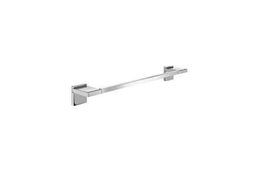 Roca A816846001 Toallero de lavabo (Posibilidad de instalación mediante tornillería o adhesivo), Cromado