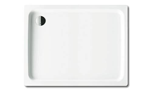 Kaldewei DuschPlan Quadrat Duschwanne weiß 100 x 100 x 6,5 cm 440248040001 inkl. Styroporträger / Wannenträger
