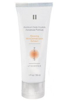 Homedics Microdermabrasion Resurfacing Exfoliating Cream 4oz with Aluminum Oxide Crystals