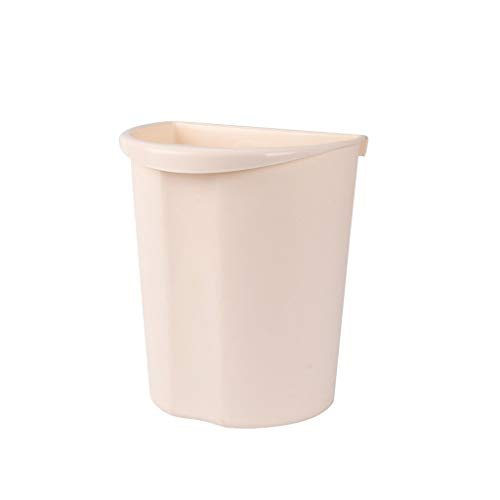 xuejuanshop Kitchen Trash Can Kitchen Cabinet Door Hanging Trash Can Kitchen Storage Box White Trash Can
