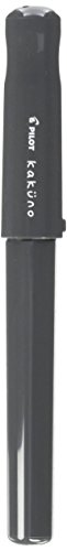 Pilot Kakuno pluma estilográfica de biginners, color gris 1