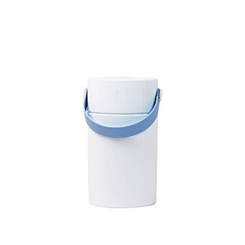 Humidificador De Aire, Mini Humidificador De Aire De Tres-En-Uno USB En La Oficina del Coche, Azul Humidificador Portátil