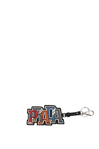 Prada Trick in Pelle Saffiano Leather PRADA Character Key Chain Charm 2TL253