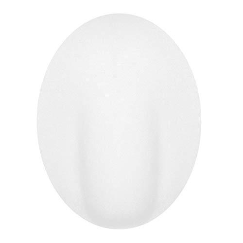 iixpin Herren Bademode Penis Pouch Pad Unterwäsche Badehose Kurze Push up Front Verbesserung für Männer Weiß Type B One Size