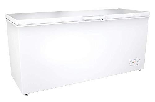 Gefriertruhe TIefkühltruhe Kühltruhe (560 L, A+, 406 kWh/Jahr, Innenbeleuchtung, Türschloss, Thermostat -18 bis - 25°C, inkl. 1 Korb) [Energieklasse A+]