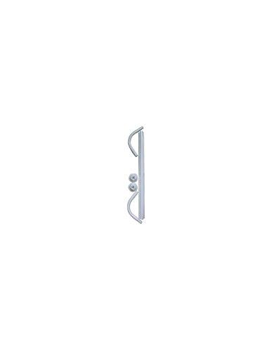 Barre en époxy coudée - Diamètre 20 mm Arvix - Blanc