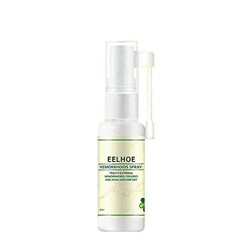 Natural Herbal Hemorrhoids Spray Bottle, Treatment Internal External Anal Fissure, Natural Organic Herbal Essence Medical Cream Anal-Fissure Painkiller Health Care, 30mL