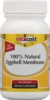 Vitacost 100% Natural Eggshell Membrane -- 30 Capsules