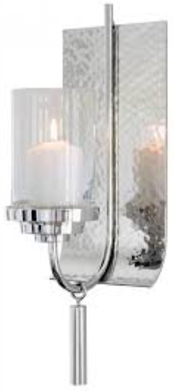 Fink - EZ-Talon - Wandleuchter - Kerzenhalter - vernickelt - Hhe 41 cm