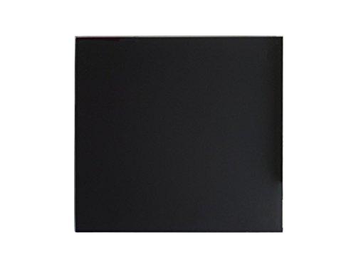 Jollytherm 10503 Bella-Jolly IR Glasheizkörper, schwarz, 50 x 50 cm