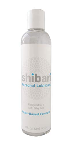 Shibari Premium Personal Lubricant, Water Based Lube, 8 Ounce Bottle