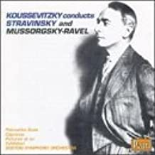 Koussevitzky Conducts Stravinsky and Mussorgsky/Ravel: Petrushka, Apollo, Capriccio, Pictures at an Exhibition by unknown (1993-11-15)