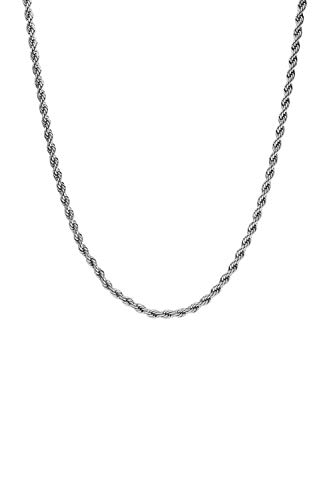 FAYE  Vintage Classic Twisted Necklace Silver for Women - Necklace for Women - Jewellery
