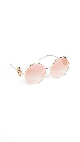 Dolce e Gabbana 0DG2205, Occhiali da Sole Donna, Oro (Pink Gold), 59