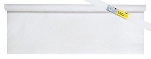 Idena tafelkleed papier 1 m x 10 m, keuze uit verschillende kleuren en voordeelpakketten (3-delige voordeelverpakking, wit)