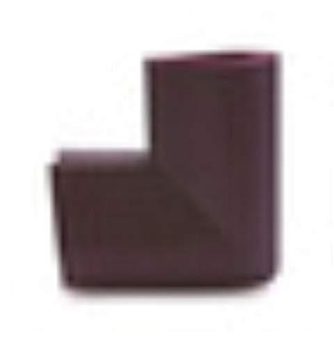 Piero 4-delige U-vormige hoekbeschermer Babyveiligheid Glazen salontafel Hoekbotsing Beschermende kinderen, bruin