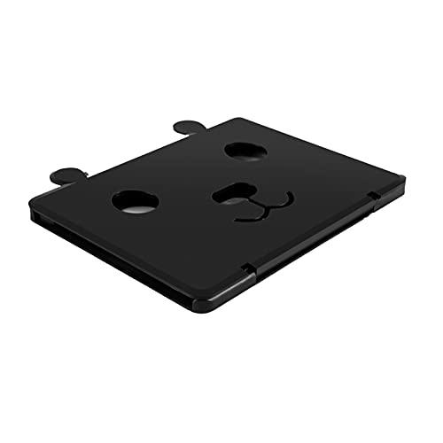 Sonoaud Bildschirmlupe 25,4 cm (10 Zoll) für Telefon, Bildschirmverstärker, hohe Leistung, kompatibel mit Tablet, Schwarz