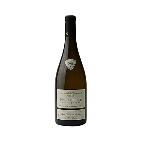 Pouilly-Fuissé Clos de Monsieur Noly Blanc 2018 - Domaine de la Creuze Noire - Vin AOC Blanc de Bourgogne - 75cl - Cépage Chardonnay