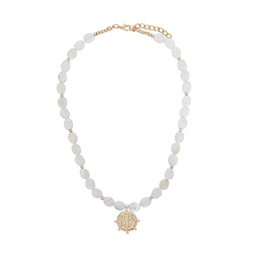 Parfois - Collar Golden Basics - Mujer - Talla Única - Dorado
