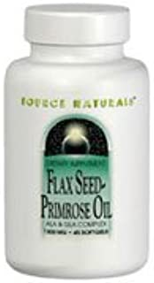Flaxseed-Primrose Oil, 1300 mg, 90 Softgels, 1300 mg, 45 (Pack of 2)