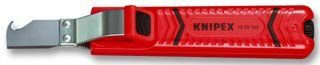 KNIPEX 16 20 165 SB Abmantelungswerkzeug schlagfestes Kunststoffgehäuse 165 mm (in SB-Verpackung)